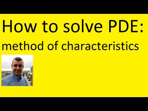 Method of Characteristics: How to solve PDE