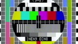 9-8 Television PM5544 Test Pattern
