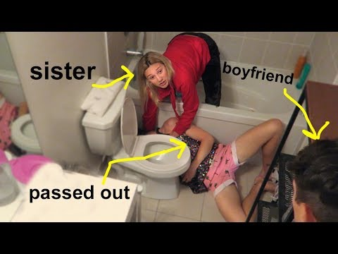 ALCOHOL O.V.E.R.D.O.S.E PRANK ON LITTLE SISTER! (she cried)