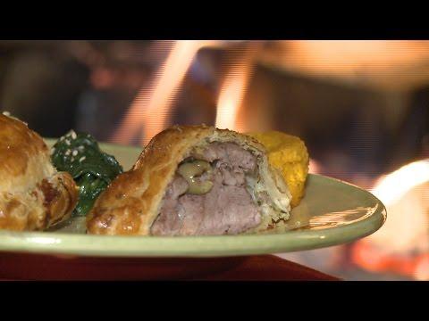 recette-:-feuilleté-de-filet-mignon-et-ses-épinards