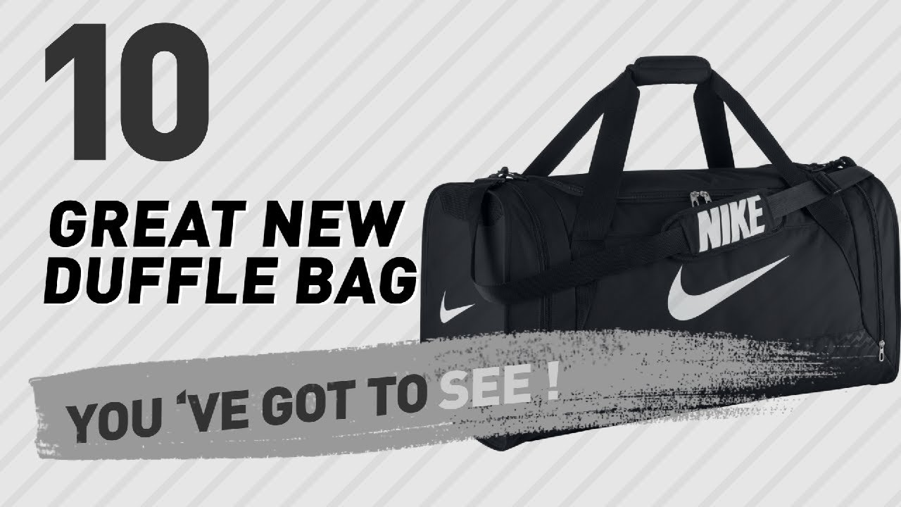 6e222f1f2770ac Nike Large Duffle Bags    New   Popular 2017 - YouTube
