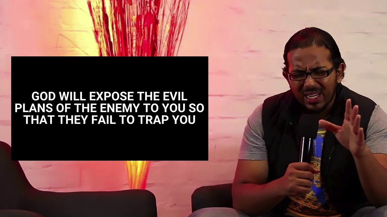 GOD WILL EXPOSE THE ENEMY'S TRAPS AND PLANS SO THAT THEY CANT STOP YOU, Daily Promise and Praye