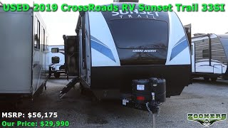 Zoomers RV | USED 2019 CrossRoads RV Sunset Trail 33SI (Zoomers Stock #2752)