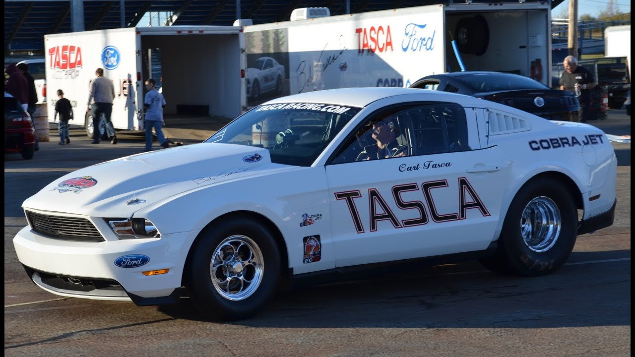 Mustang Cobra Jet >> Tasca Performance Ford Mustang Cobra Jet new best 7.864 ...
