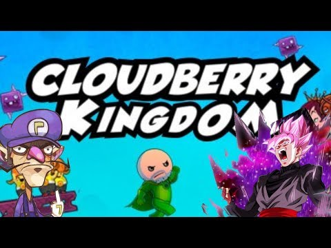 RAGING OUR BALLS OFF |  cloudberry kingdom with goku black!