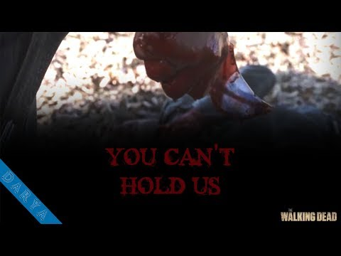 THE WALKING DEAD - You can't hold us [Music Video]