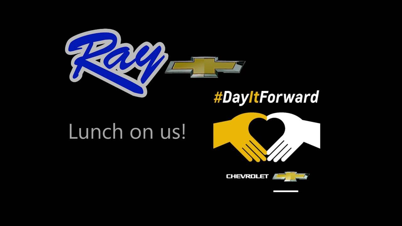 Ray Chevrolet s lunch at McDonald s DayItForward