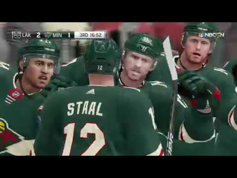 NHL 19 - Los Angeles Kings Vs Minnesota Wild Gameplay - NHL Season Match Oct 25, 2018