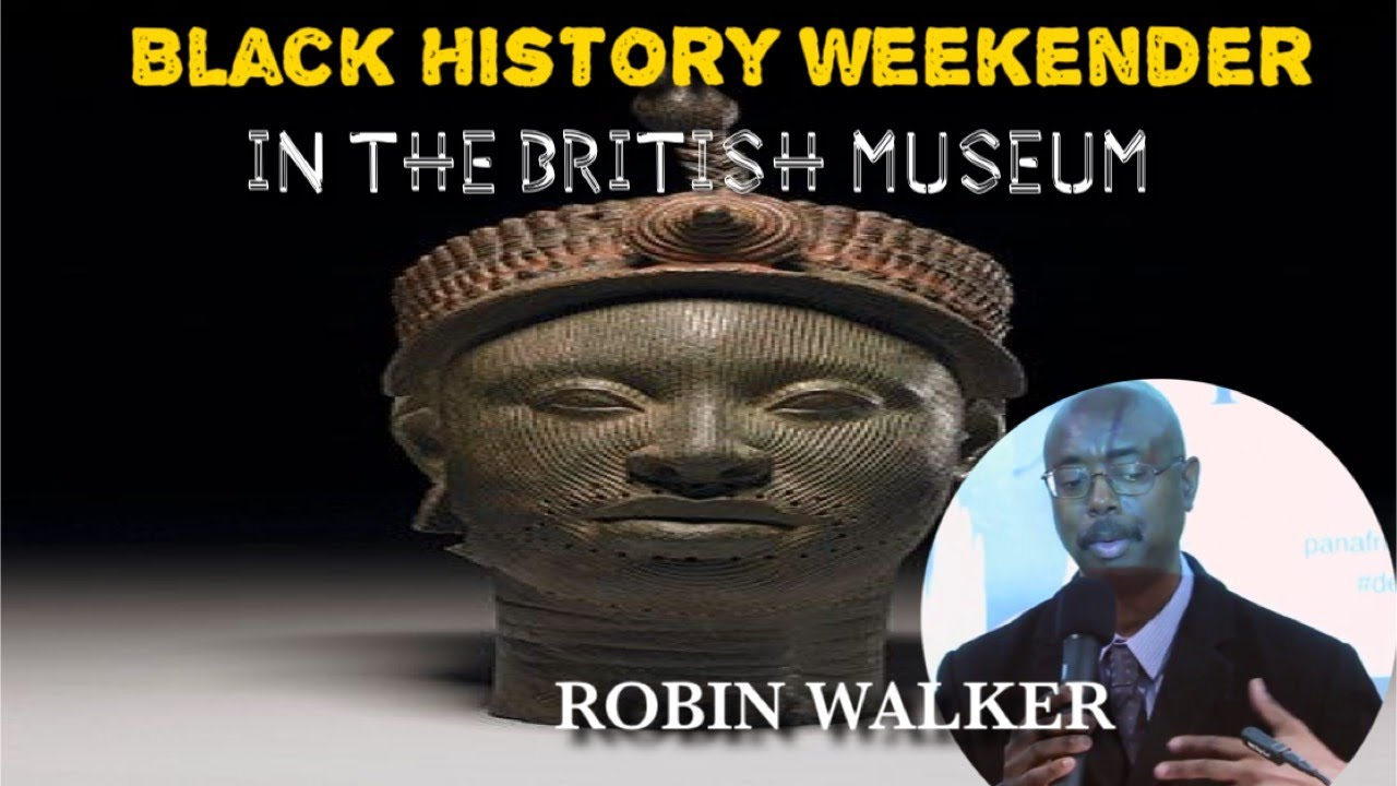 ROBIN WALKER IN BRITISH MUSEUM