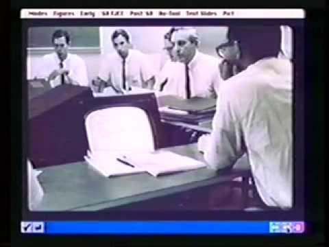 Doug Engelbart  -  Vannevar Bush Symposium 1995
