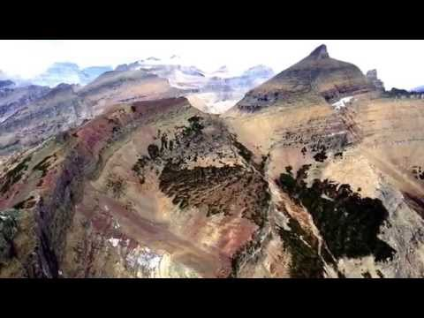 Hiking from the Loop to Swiftcurrent Pass and Swiftcurrent Lookout, Glacier National Park, Oct 2015