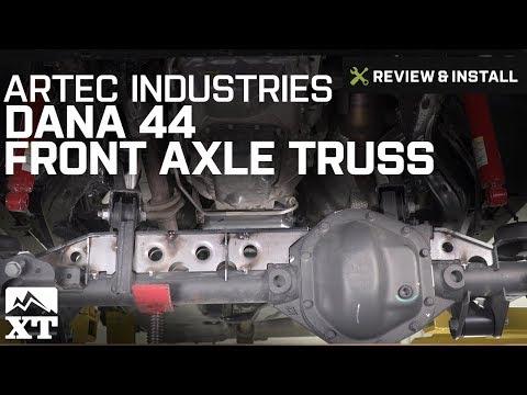 Jeep Wrangler Artec Industries Dana 44 Front Axle Truss