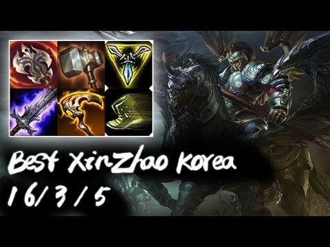 Best XinZhao Korea vs Fiora | Korea High Elo Replays