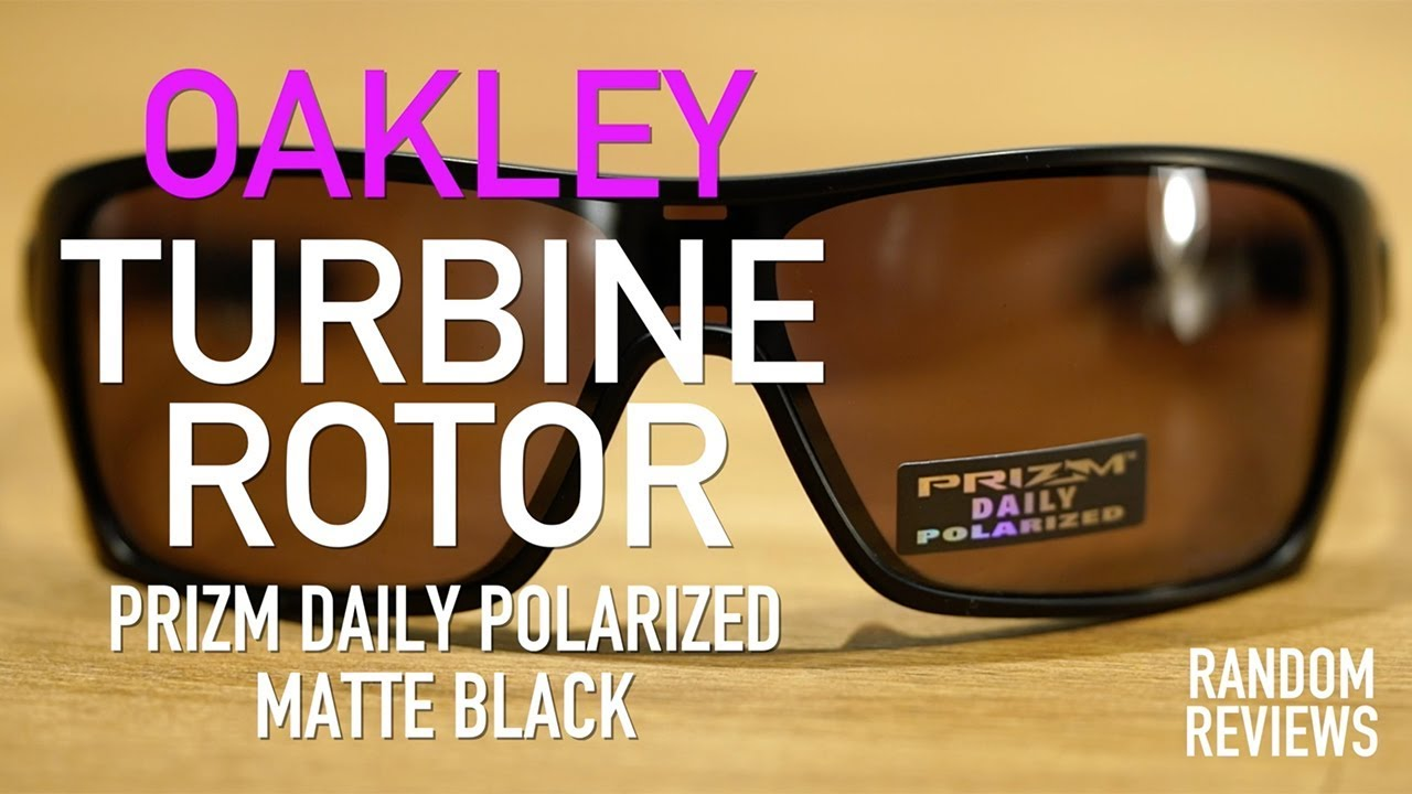 f85d769cb5311 Coolest Oakley Sunglasses  Turbine Rotor Prizm Daily Polarized - Review