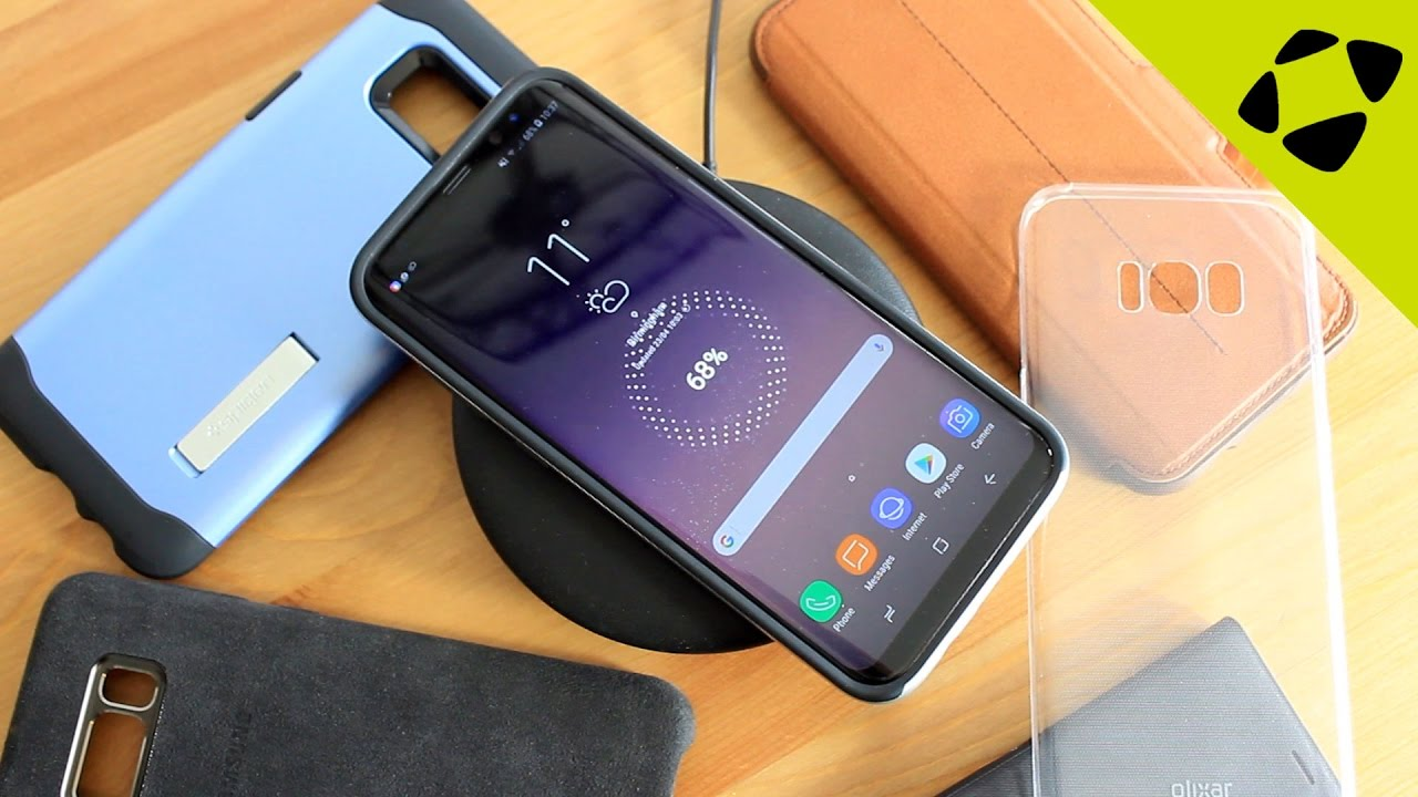 What Samsung Galaxy S8 Plus Cases Work With Wireless Charging Youtube Cell Phone Shield Charger