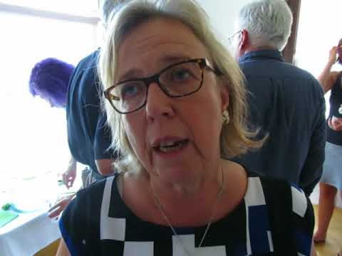Federal Green Party Leader Elizabeth May views on Donald Trump!!!!