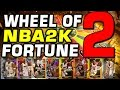 Wheel of NBA 2K Fortune 2 (NEW AND IMPROVED)