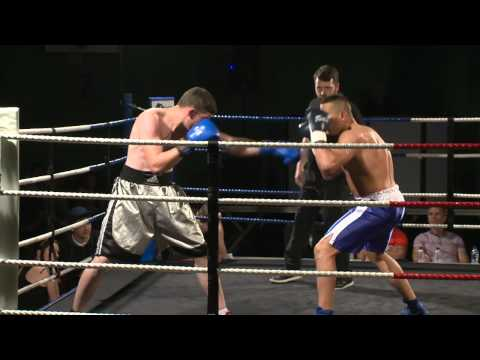 Cameron Lee Rice V Edger Ponsevic ON-X Arena Semi-Pro Boxing