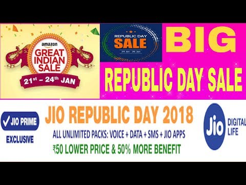 Jio,Amazon,MI Store Big Offer |Big Republic Day Sale|Bangla