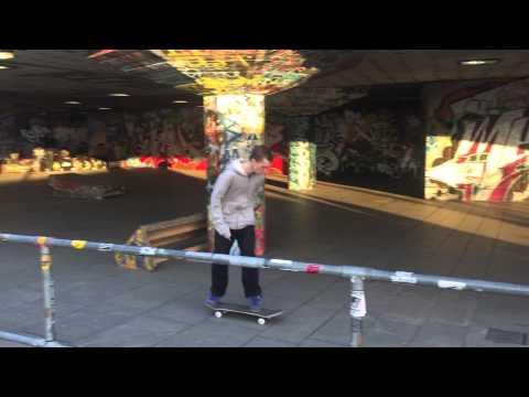 Skateboarders in London