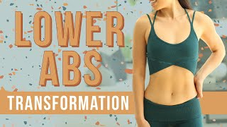 10 Minute Lower Ab Flattener | Total Body Transformation Workout