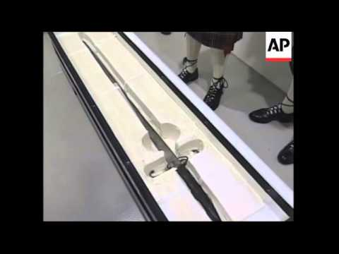 Sword said to be used by William Wallace goes on show