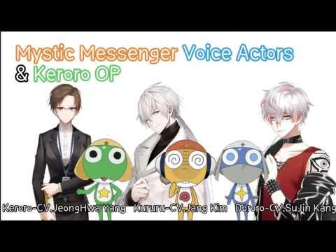 Mystic Messenger Voice Actors Singing Keroro(Korean) OP