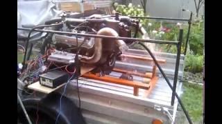3UZ-FE  для водометного катера, запуск на альтернативном ЭБУ