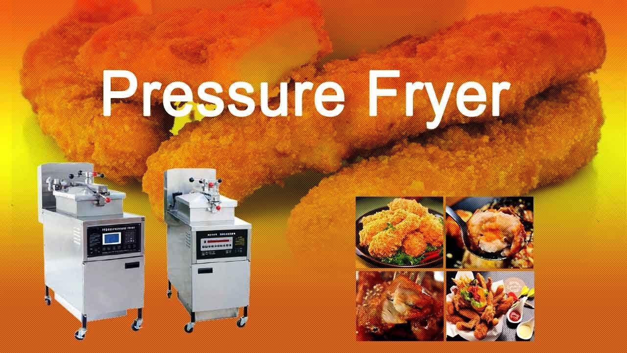 Pressure Fryer Kfc Chicken Pressure Fryer Youtube