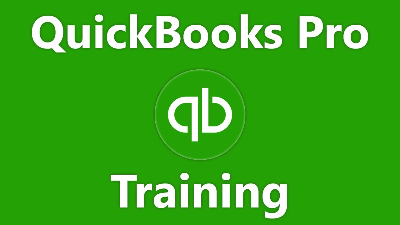 QuickBooks Pro Tutorial The Chart Of Accounts Intuit Training - Create invoice in quickbooks online thrift store