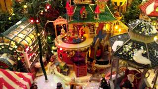 stepmom's christmas village