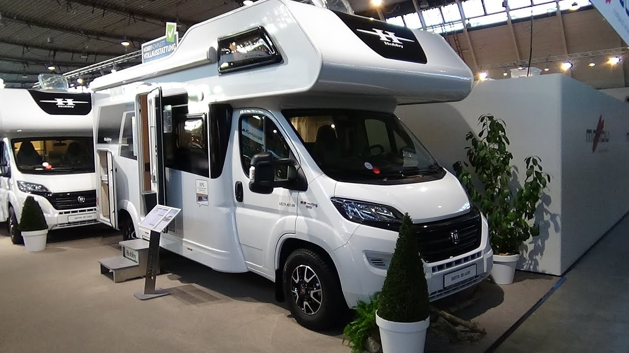 Verwonderend 2018 Hobby Siesta de Luxe A65 GM Fiat - Exterior and Interior SH-08