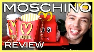 review MOSCHINO french fries bag by Jeremy Scott, fw14