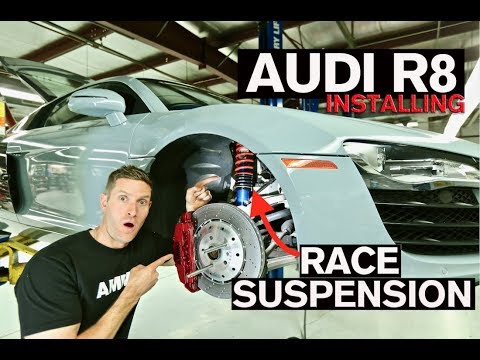 How to Install Race Suspension on Your Car: AUDI R8