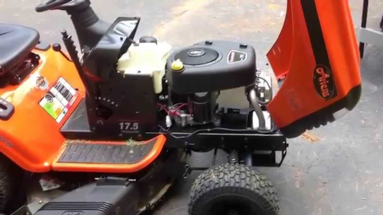 Ariens 17 5 Hp Riding Lawn Mower Review This One Will Mow