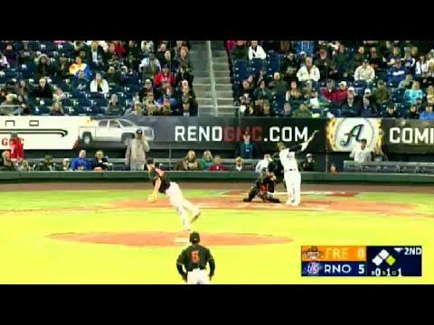 Reno's Christian Walker belts two-run homer