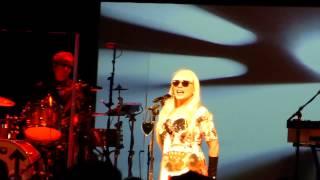 BLONDIE - Rave - Live @ Cirkus , Stockholm (Sweden) ,June 10th  2014.