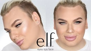 FULL FACE USING E.L.F MAKEUP! (Incl Brushes!)