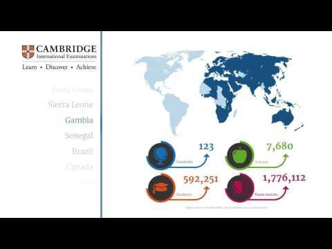 How international is Cambridge International Examinations?