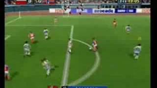 Sega Worldwide Soccer 97 [Sega Saturn] Gameplay (Part 1)