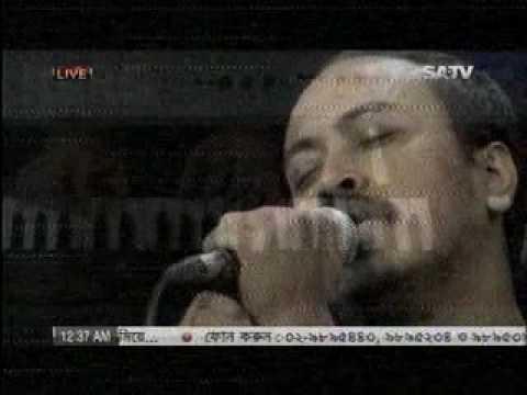 মেঘদল - আগুনের দিন; Aguner din  Sa live  2013