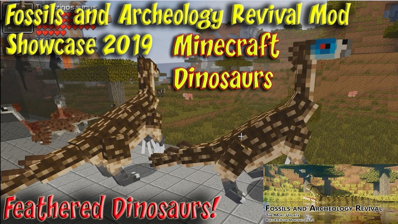 Fossils and archeology mod 1 12 2
