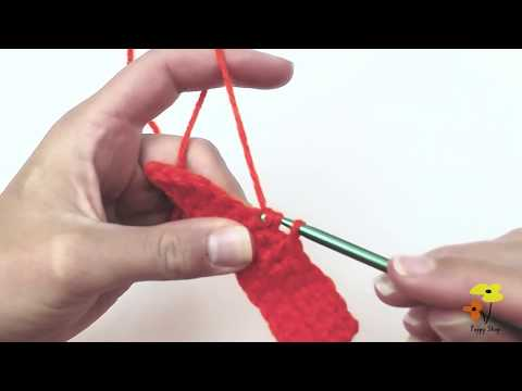 SINGLE CROCHET 2 TOGETHER (sc2tog)