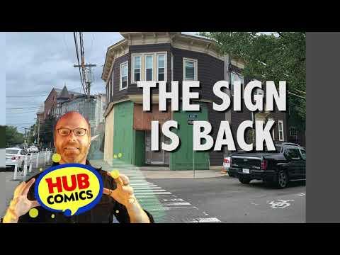 """Hub Comics - Ad - 2020-08-25 """"The Sign Is Back"""""""