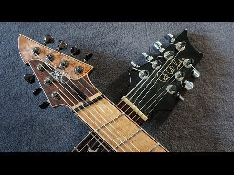 TIME HAS COME - A MADE MAN - PRS Private Stock 7 String & ViK Guitars Fanned Frets