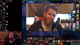 """Asmongold Reacts to """"SIDING WITH SAURFANG IN PATCH 8.1 - (SPOILERS)"""" by Nixxiom"""