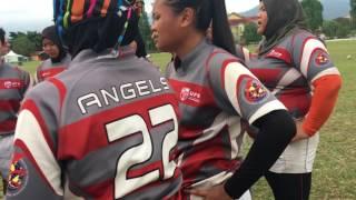Kejohan Ragbi Wanita IPT 10S 2016 Final Cup: UPM ANGELS VS MSP A