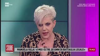 Manuela Villa e la battaglia per il riconoscimento di paternità - Storie Italiane 22/10/2020