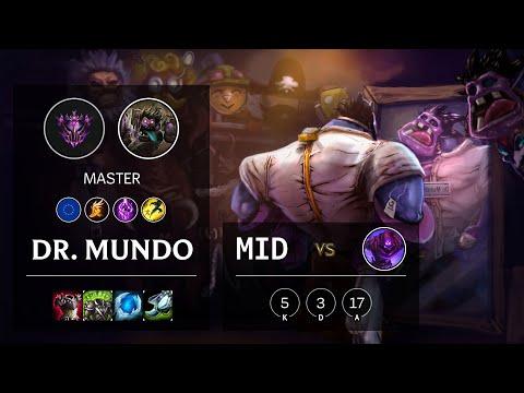 Dr. Mundo Mid vs Malzahar - EUW Master Patch 10.15