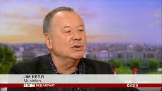 Simple Minds BBC Breakfast 2016